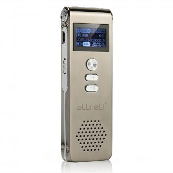 aLLreLi Digital Voice Recorder