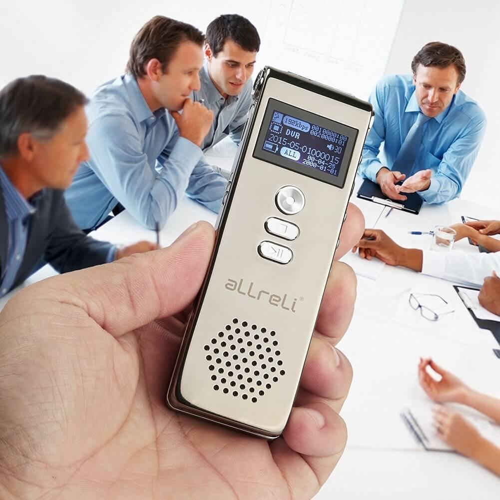 aLLreLi Digital Voice Recorder