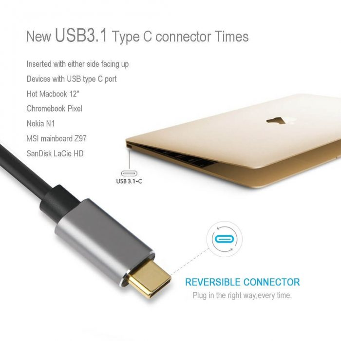 aLLreLi USB C to HDMI Cable